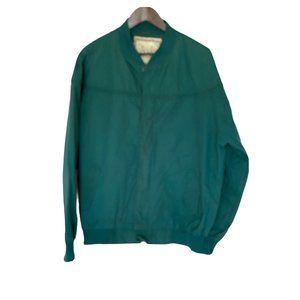 Munsingwear Men's Green Jacket Windbreaker Golf L